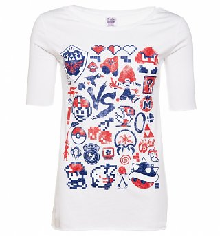 Women's Retro Gaming T-Shirt