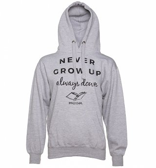 Women's Roald Dahl Never Grow Up Hoodie