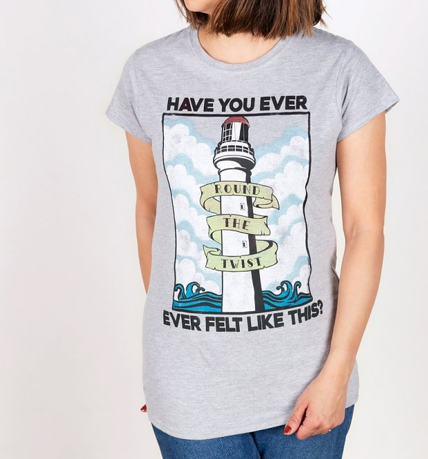 Women's Round The Twist Lighthouse Fitted T-Shirt