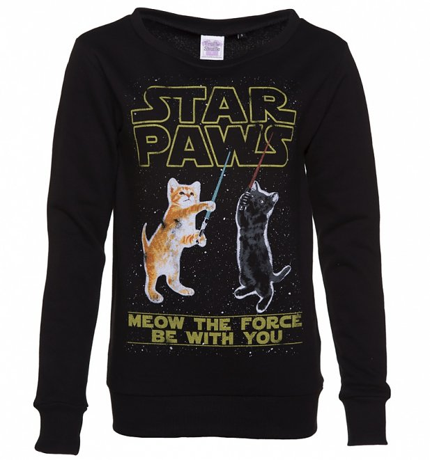 Women's Star Paws Parody Sweater