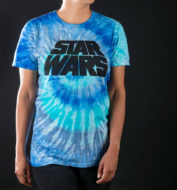 Star Wars Logo Tie Dye T-Shirt