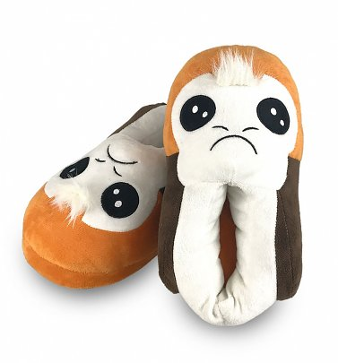 Women's Star Wars Porg 3D Slippers