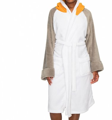 Women's Star Wars Porg Dressing Gown With Hood