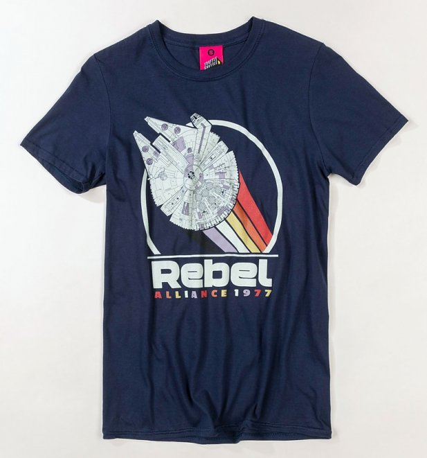 Women's Star Wars Rebel Alliance 1977 Navy T-Shirt