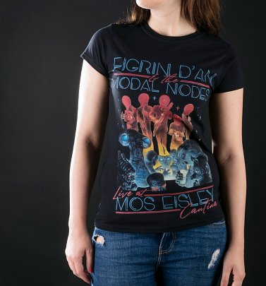 Women's Star Wars The Intergalactic Tour Black T-Shirt