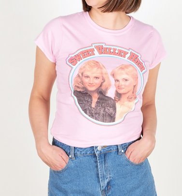 Women's Sweet Valley High Inspired Light Pink T-Shirt