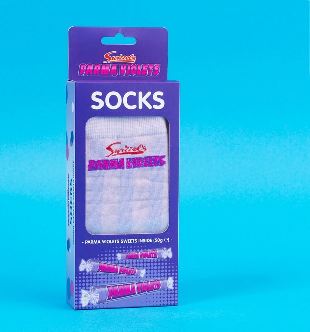 Women's Swizzels Parma Violets Socks and Sweets Set