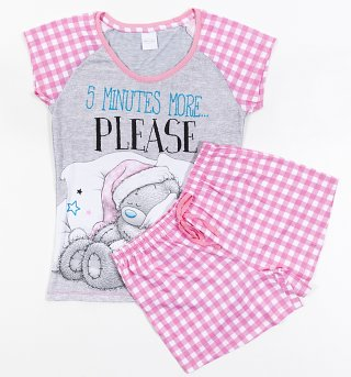 Women's Tatty Teddy 5 More Minutes Shortie Pyjamas