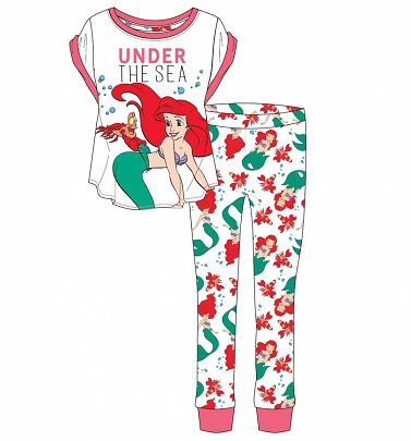 Women's The Little Mermaid Under The Sea Pyjamas