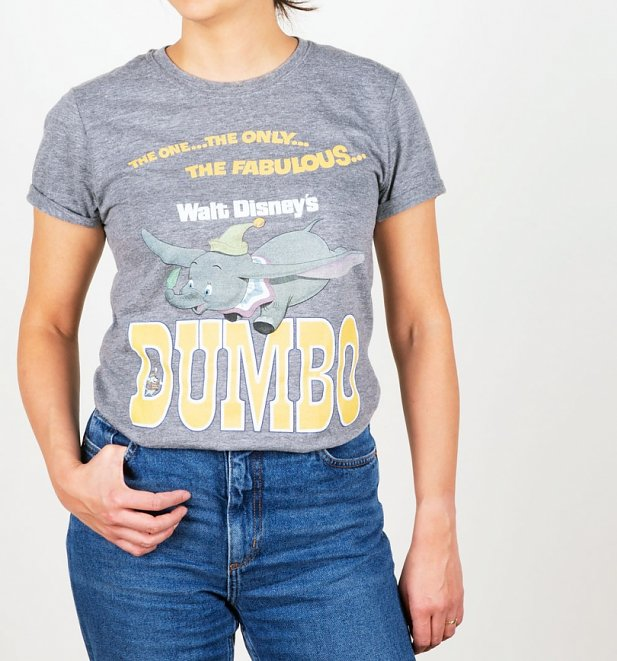 Women's The One, The Only, The Fabulous Dumbo Rolled Sleeve Boyfriend T-Shirt