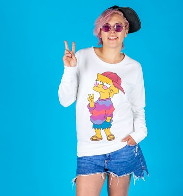 Women's The Simpsons Cool Lisa Fitted Sweater