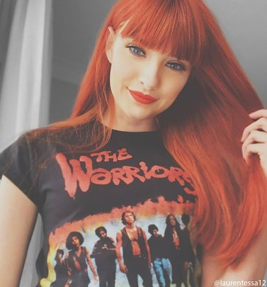 Women's The Warriors Movie Poster Fitted T-Shirt