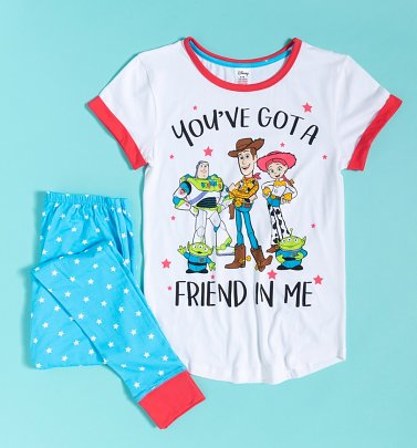 Women's Toy Story Friend In Me Pyjamas