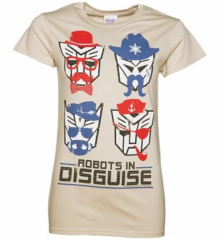 Women's Transformers Retro Robots in Disguise T-Shirt