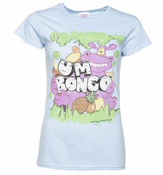 Women's Um Bongo Light Blue T-Shirt