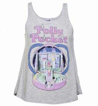 Women's Vintage Polly Pocket Swing Vest