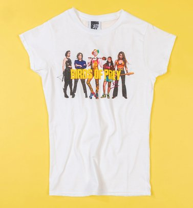 Women's White Birds Of Prey Gang T-Shirt