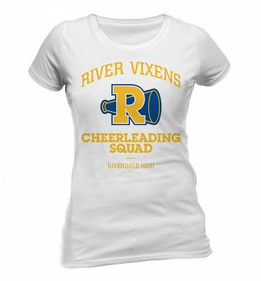 Women's White River Vixens Cheerleading Squad Riverdale T-Shirt