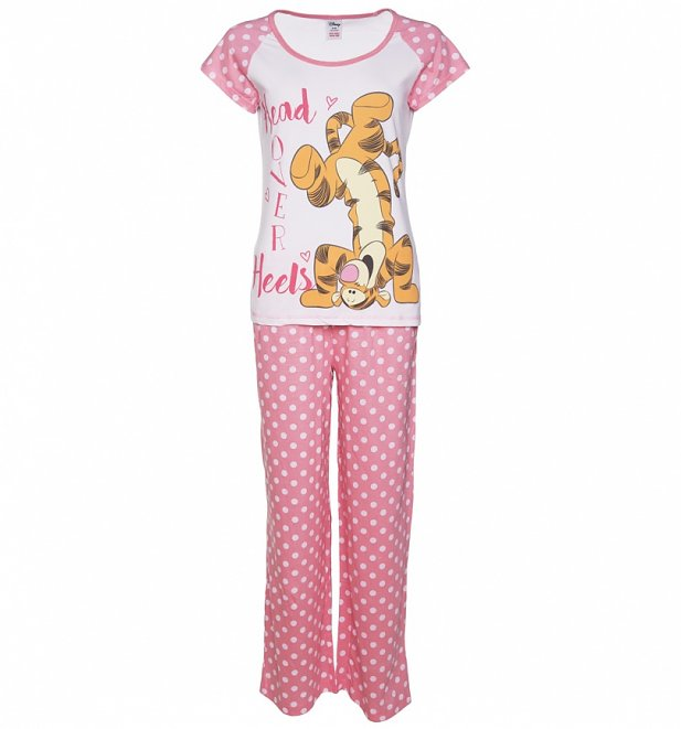 Women's Winnie The Pooh Head Over Heels Tigger Pyjamas