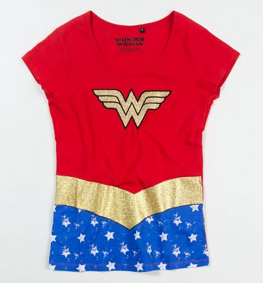 Women's Wonder Woman Costume T-Shirt