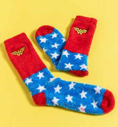 Women's Wonder Woman Fleece Socks
