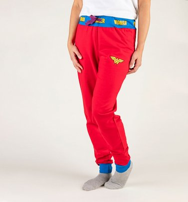 Women's Wonder Woman Jogger Loungepants