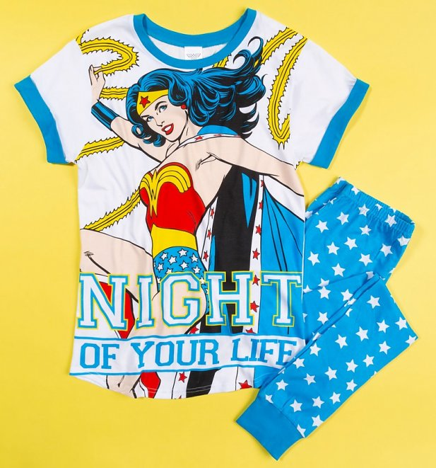 Women's Wonder Woman Night Of Your Life Pyjamas
