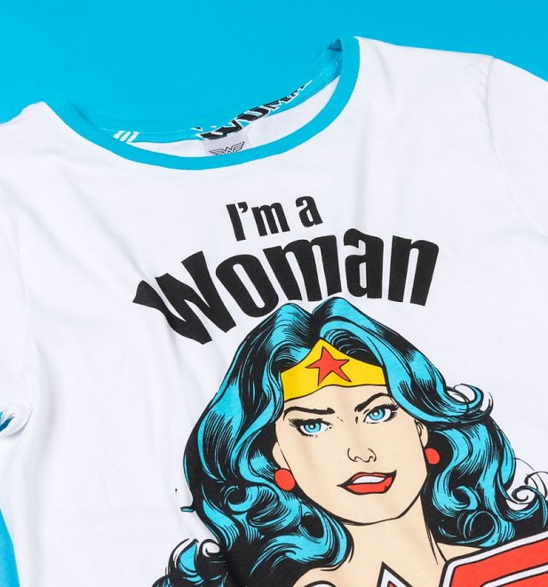 Women's Wonder Woman What's Your Super Power Pyjamas