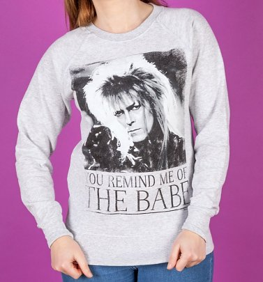 Labyrinth - Bowie You Remind Me Of The Babe Damenpullover