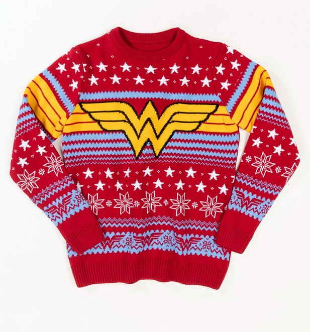 Wonder Woman Christmas Jumper