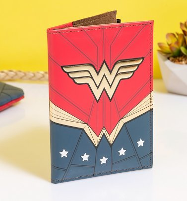 Wonder Woman Passport Holder