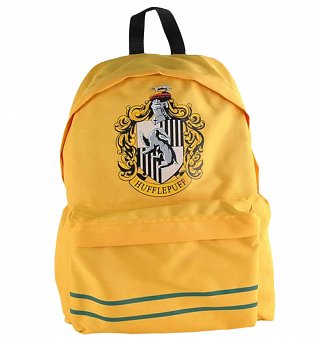 Yellow Harry Potter Hufflepuff Backpack