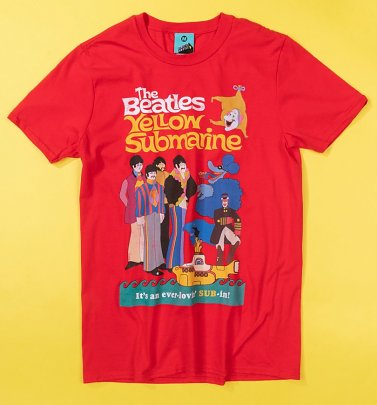 Yellow Submarine Ever Lovin' Sub-In T-Shirt