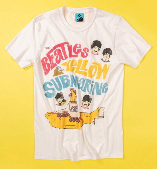 Yellow Submarine Vintage Graphic T-Shirt