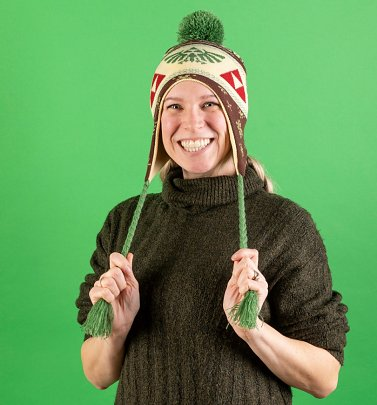 Zelda Knitted Laplander Hat from Difuzed