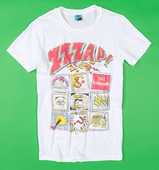 ZZZap! White T-Shirt