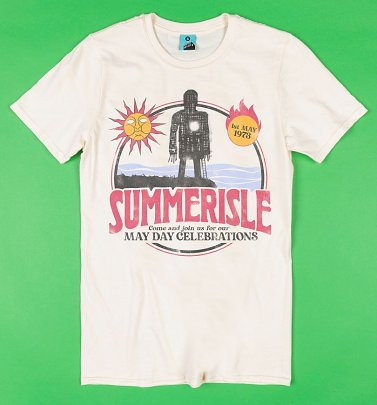 The Wicker Man Inspired Summerisle Ecru T-Shirt