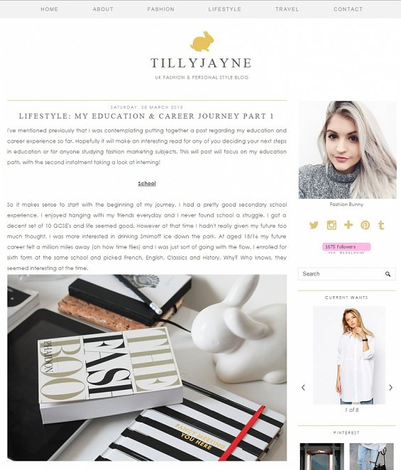Blog Tilly Jayne