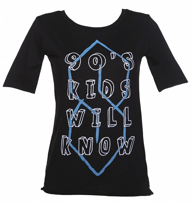 Women's 90's Kids Will Know Scoop Neck T-Shirt