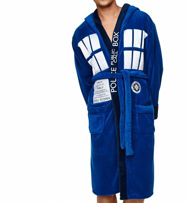 Doctor Who TARDIS Dressing Gown