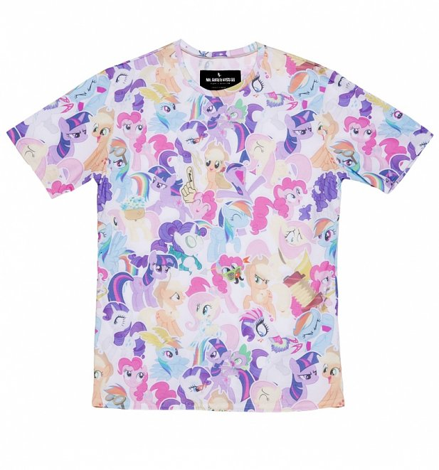 Unisex All Over Print My Little Pony Friendship is Magic T-Shirt