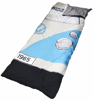 Blue VW Campervan Sleeping Bag