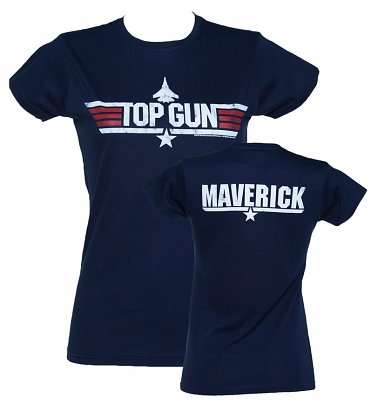Top Gun - Maverick Damen T-Shirt, Navy-Blau