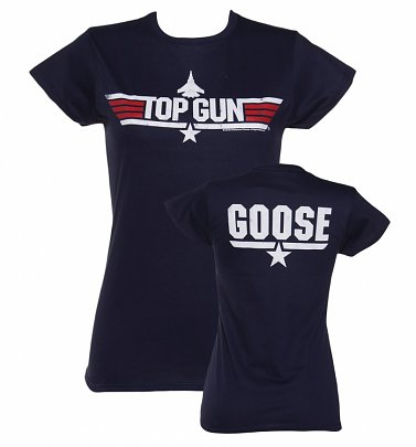 Women's Top Gun Goose Fitted T-Shirt