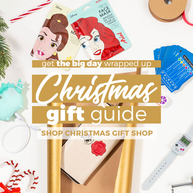 Get the big day wrapped up with our Christmas Gift Guide - Shop Christmas Gift Shop