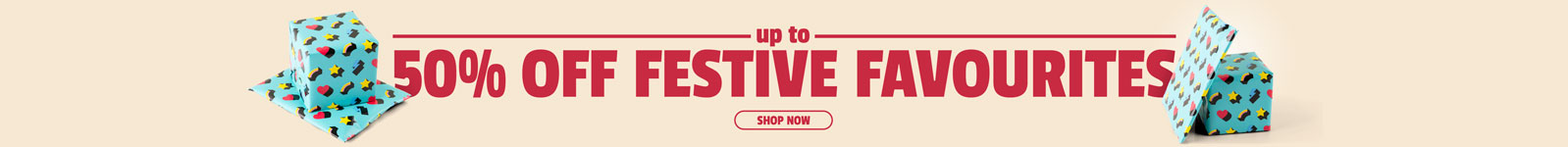 19-12 - 50% off Festive Picks