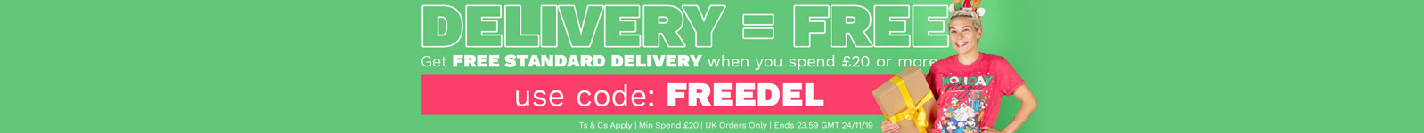 19-11 - Free Delivery
