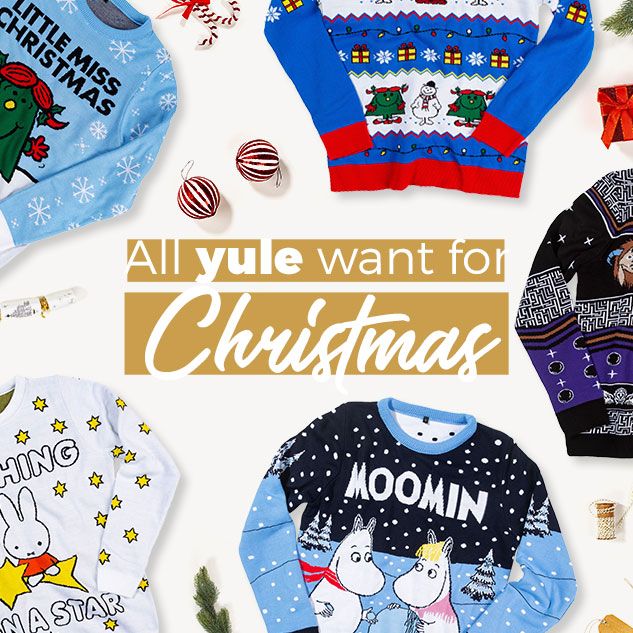 All yule want for Christmas! - Shop Christmas Jumpers