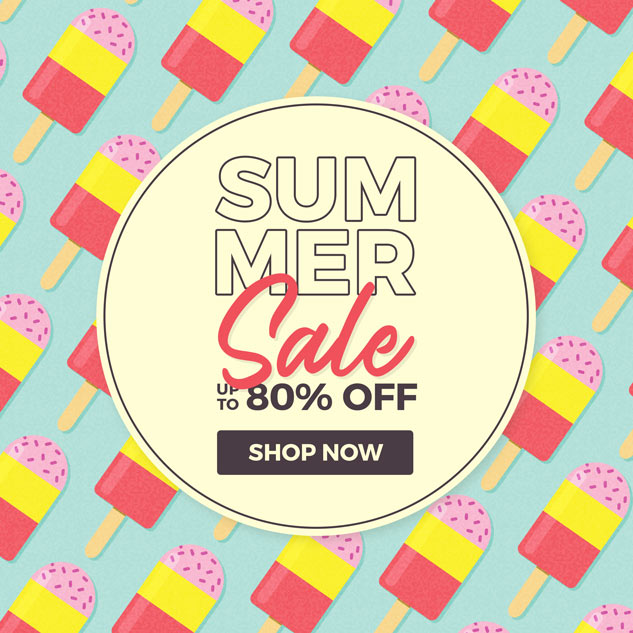 Summer Sale - Up to 85% off - Shop Now