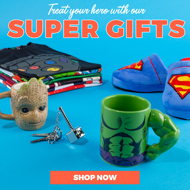 Treat your hero with our SUPER GIFTS - Shop Now